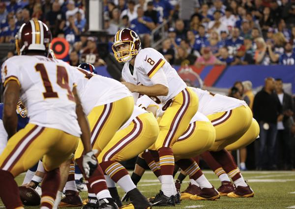 Redskins shift towards home-grown offensive line