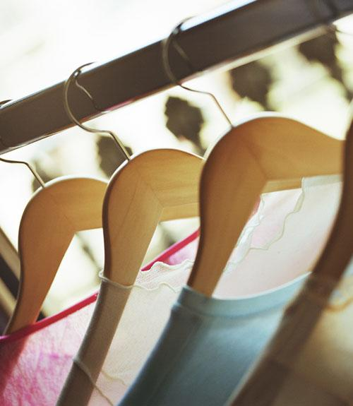 5. Splurge on Matching Hangers