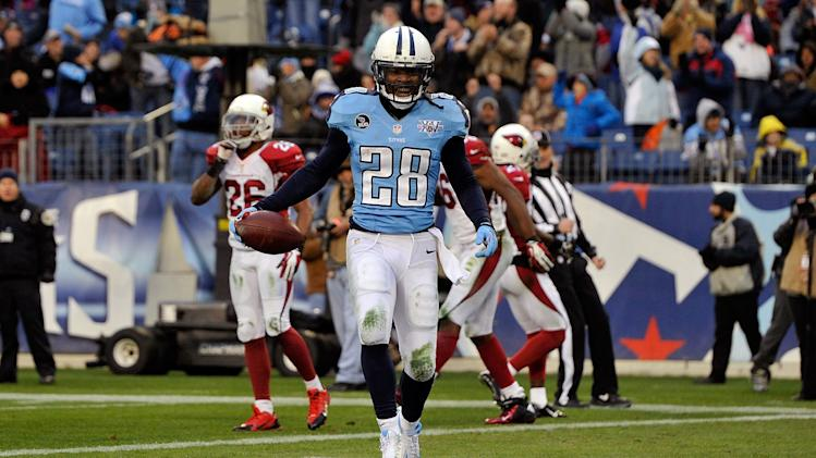 Chris Johnson signs a two-year deal with the New York Jets