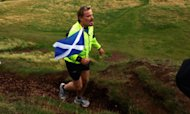 End Of Road For Izzard's Marathon Challenge