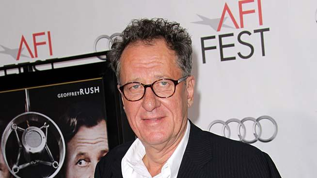 Geoffrey Rush Kings Speech Gala