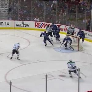 Eddie Lack Save on Jamie Benn (00:21/1st)