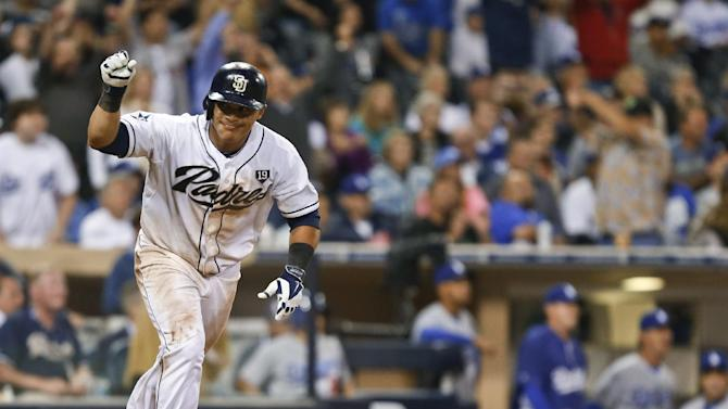 Padres get 3 in 9th, beat Dodgers 6-5