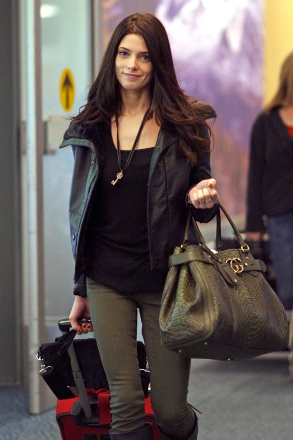 Ashley Greene In Vancouver For 'Breaking Dawn' Reshoots