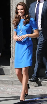 Kate Middleton Dons Stella McCartney For Pre-Olympic Event in London  
