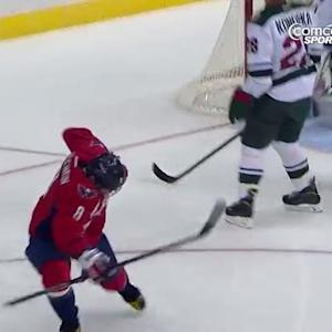 Alex Ovechkin buries the one-timer
