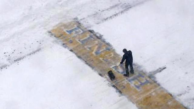 Boston's battle for parking spots, man who cleared snow from marathon finish line