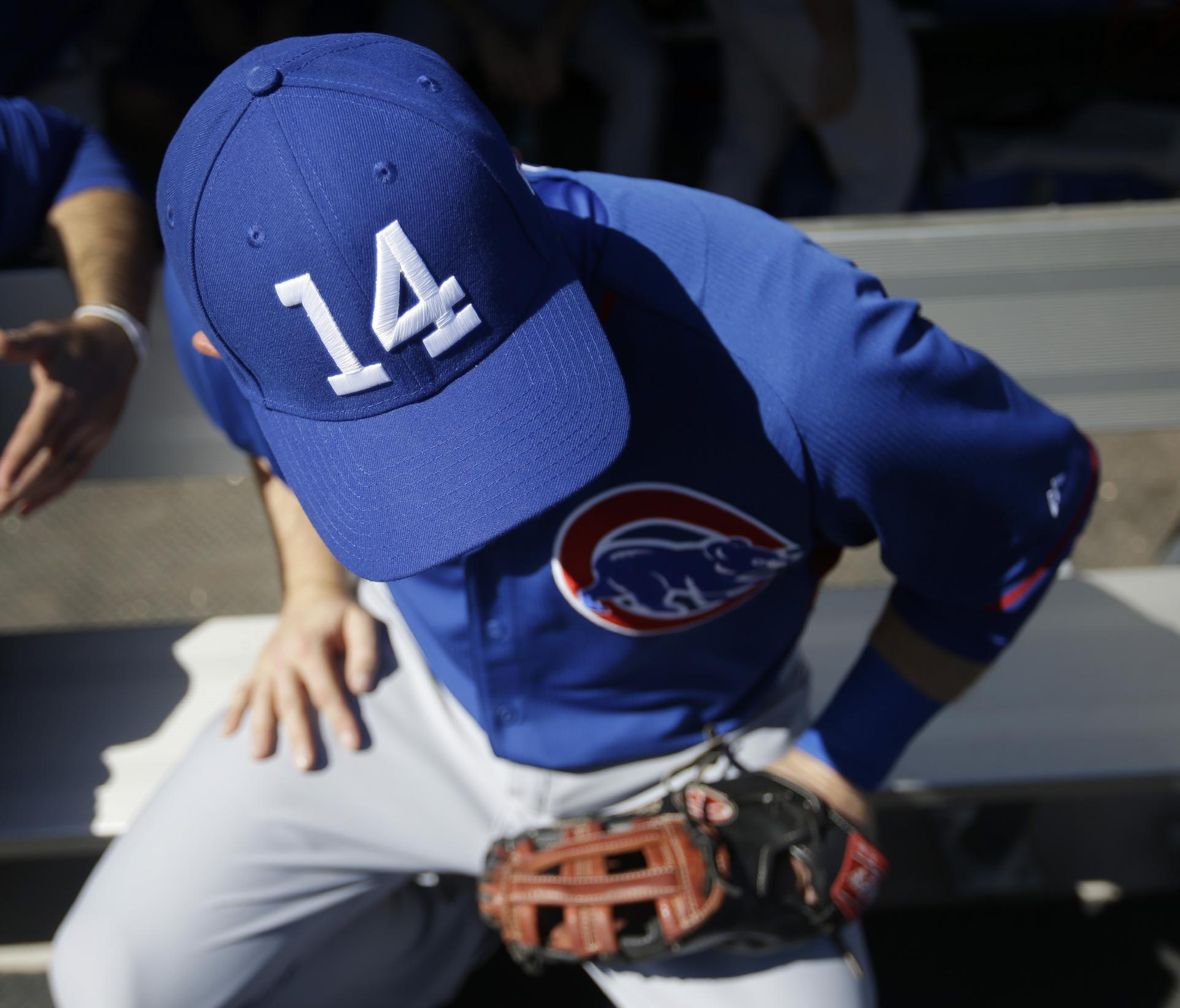 Cubs honor Ernie Banks with special No. 14 hats