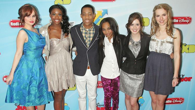 Debby Ryan, Coco Jones, Tyler James Williams, China Anne McClain, Laura Marano and Bridget Mendler