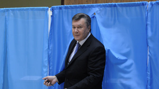 Ukraine ruling party claims victory in election