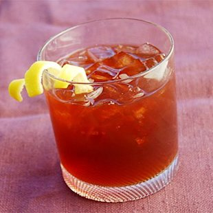Sazerac--the official cocktail of New Orleans.