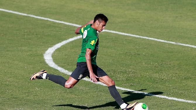 Confederations Cup - Brazil Training Session