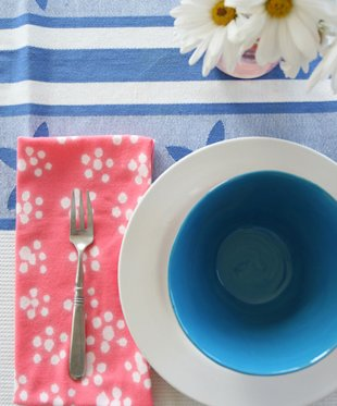 Bleach Printed Napkins
