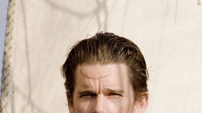 "Ethan Hawke stars as Starbuck in ""Moby Dick."""
