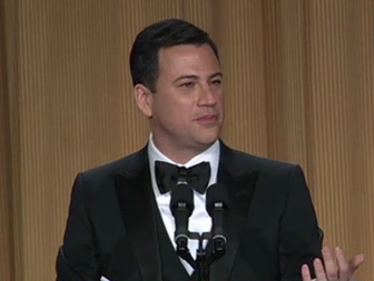 Obama, Jimmy Kimmel Rag on Kim Kardashian at White House Correspondents Dinner