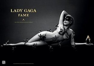 First Look: Lady Gaga's Fragrance Campaign for Fame