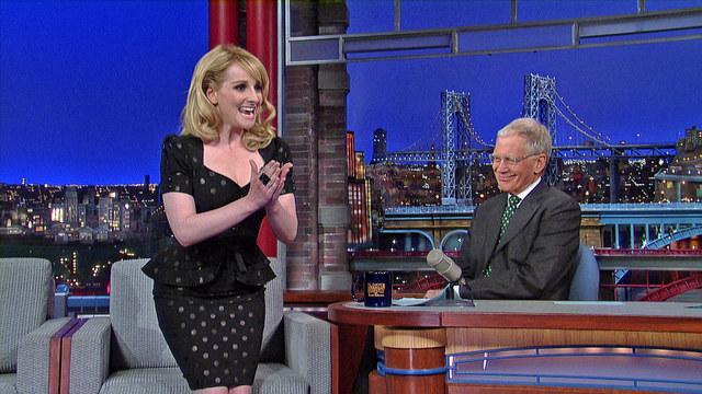 David Letterman - Big Bang Theory's Melissa Rauch