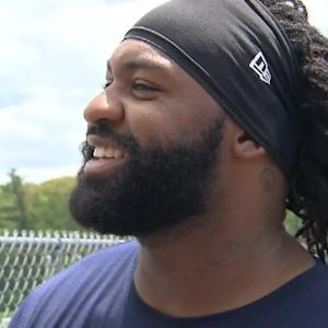 New England Patriots linebacker Brandon Spikes: 'Me and The Hoodie made up'