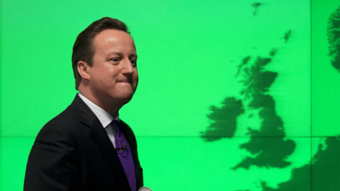 Cameron: I don't want a country called Europe