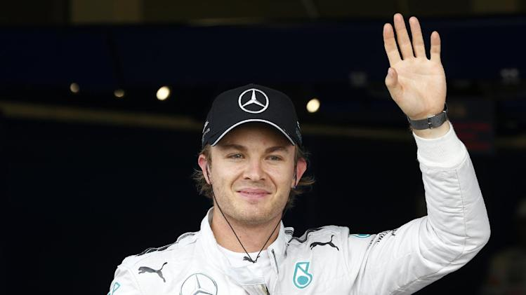Rosberg changes World Cup helmet on FIFA complaint