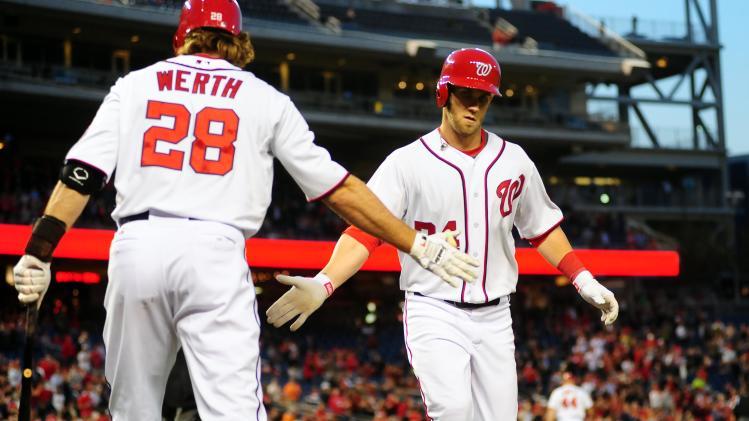 MLB: Cincinnati Reds at Washington Nationals