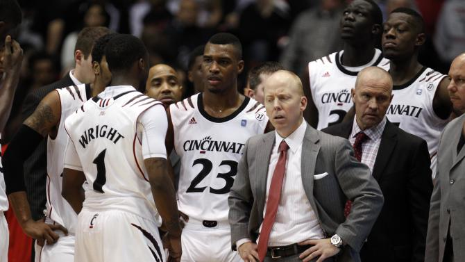 NCAA Basketball: Georgetown at Cincinnati