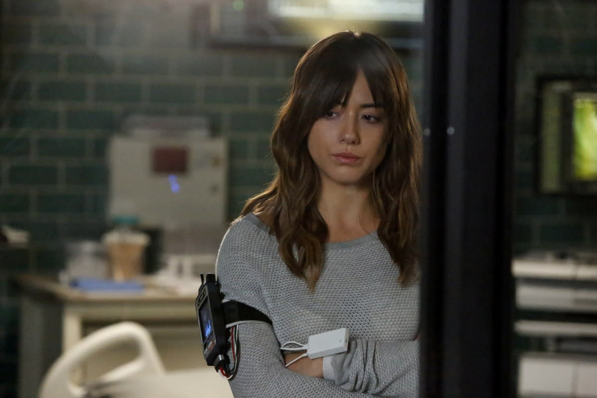 'Agents of S.H.I.E.L.D.' star Chloe Bennet is ready and quaking to be Inhuman