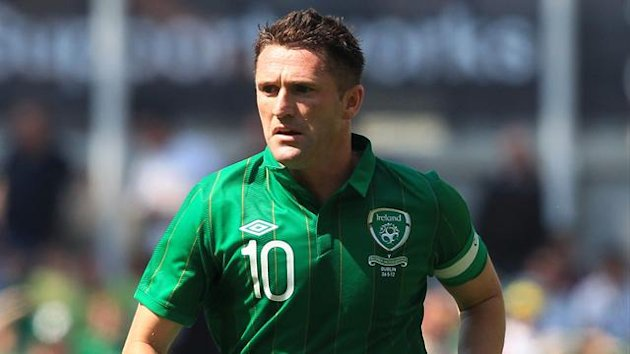 FOOTBALL 2012 Eire - Robbie Keane