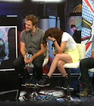 Robert Pattinson & Kristen Stewart More In Love Than Ever At Comic-Con