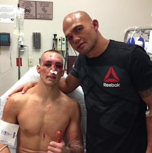 Rory and Lawler in hospital