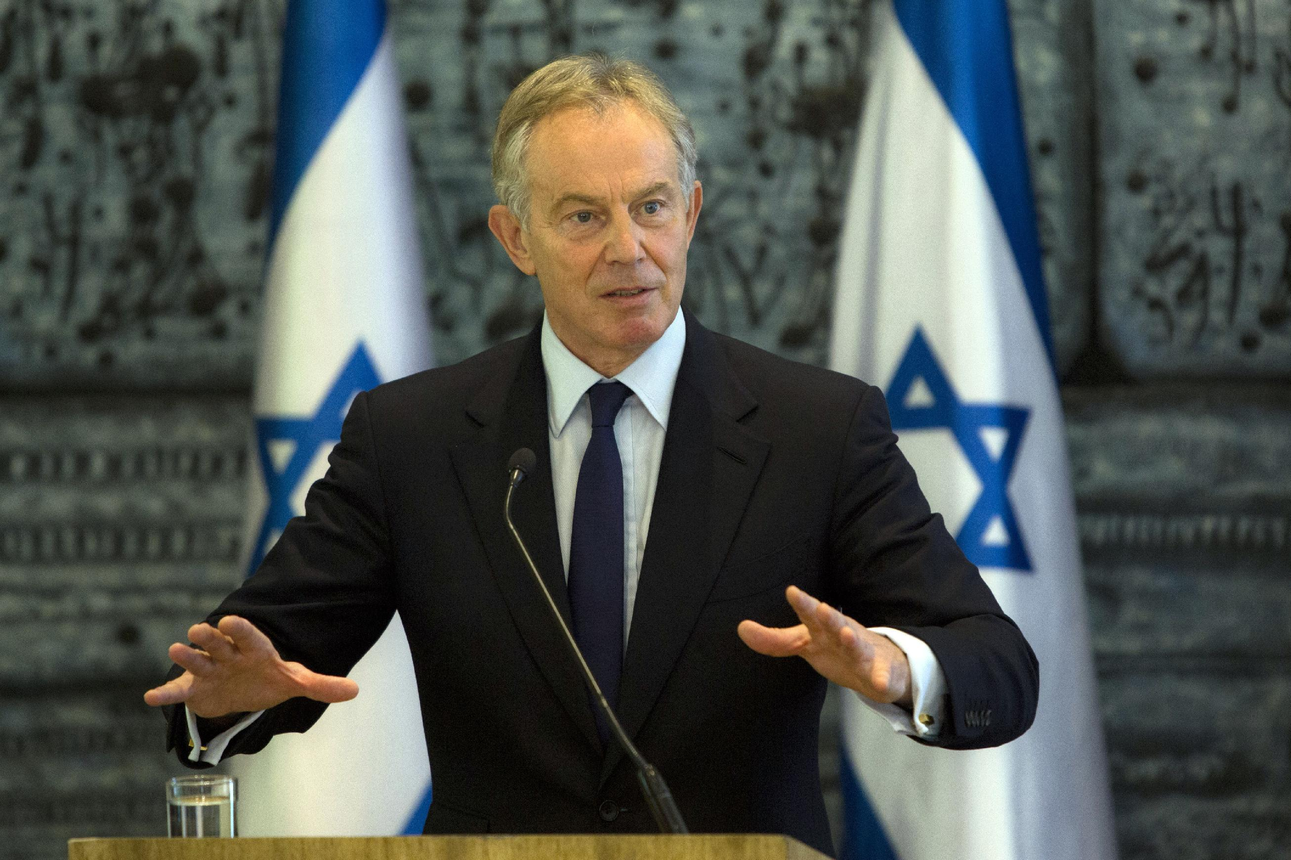 APNewsBreak: Quartet Mideast envoy Tony Blair resigns