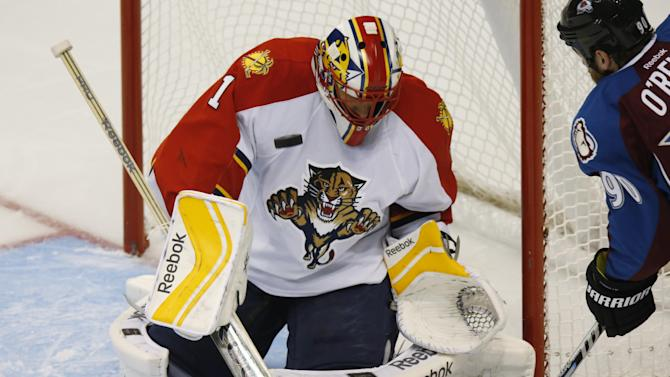 Boyes scores in OT to lift Panthers over Avalanche