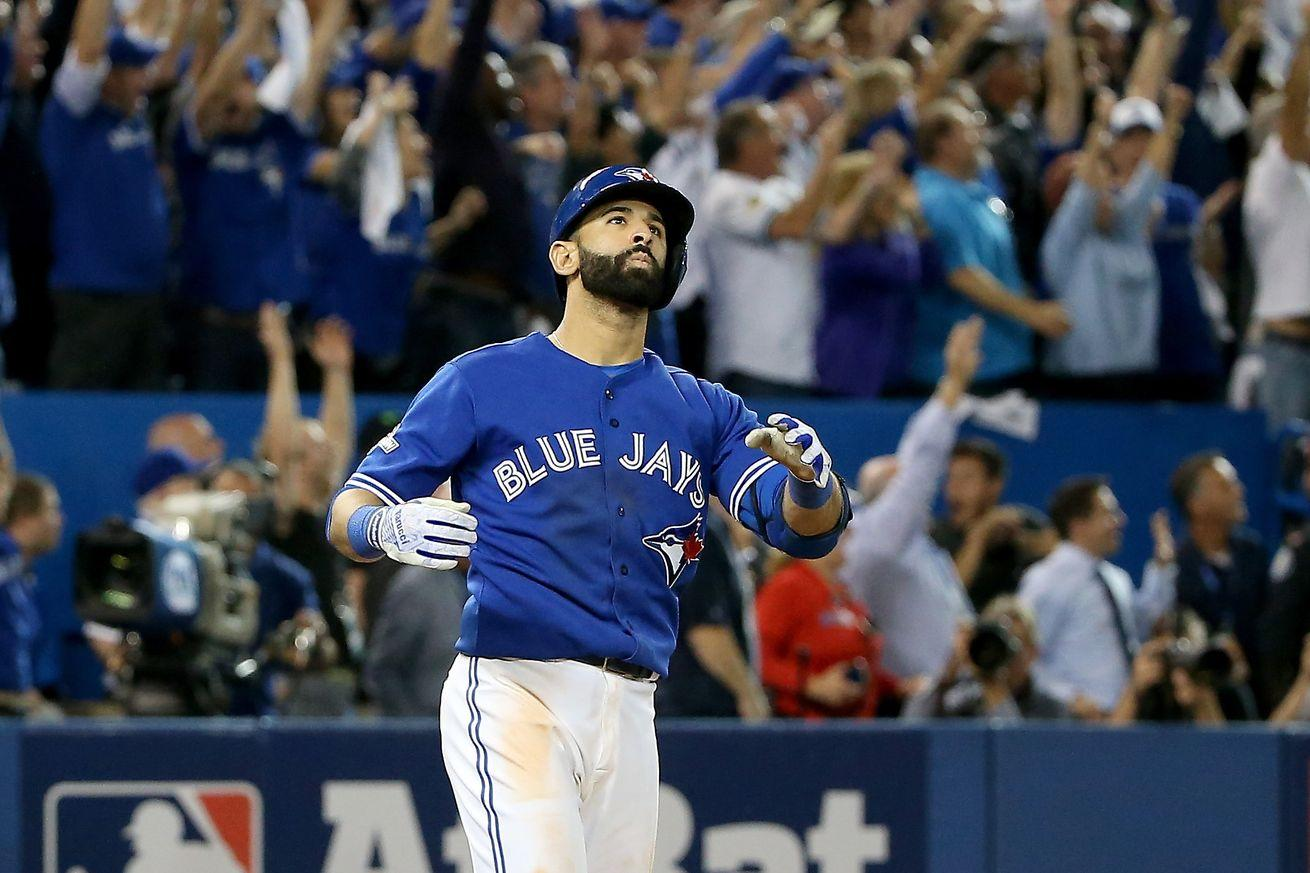 Jose Bautista hasn't paid for a drink in Toronto since The Bat Flip