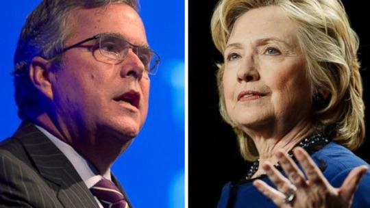 Florida faceoff: Clinton and Bush offer stark contrast in strategies