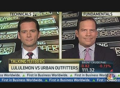 Talking Numbers: Buy Lululemon or Urban Outfitters?