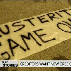 Greek Creditors Turn Up the Heat