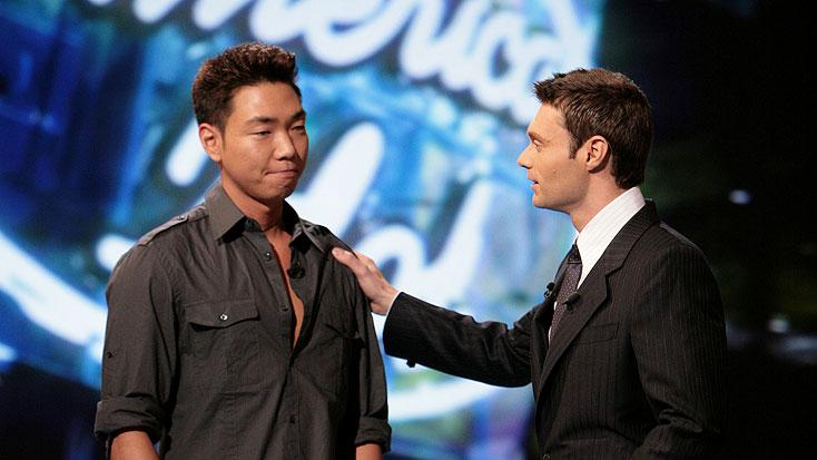 Paul Kim is eliminated on Season 6 of American Idol.