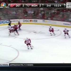 Jimmy Howard Save on Jay Beagle (09:37/3rd)