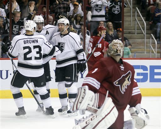 Yandle, LaBarbera help Coyotes knock off Kings 3-1