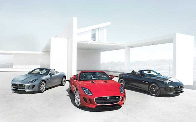 Jaguar F-Type unveiled in all its glory