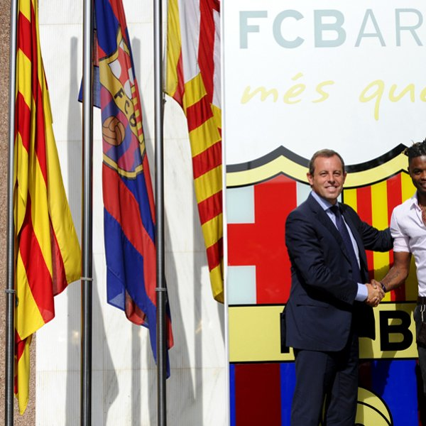 Alex Song Signs To FC Barcelona Getty Images Getty Images Getty Images Getty Images Getty Images Getty Images Getty Images Getty Images Getty Images Getty Images Getty Images Getty Images Getty Images