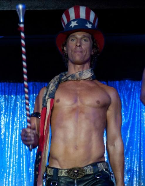 Matthew McConaughey as Dallas in 'Magic Mike' -- Warner Bros.