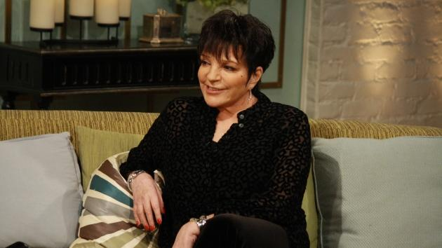 Liza Minnelli stops by Access Hollywood Live on April 23, 2012  -- Access Hollywood