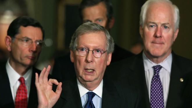 Senate Minority Leader Mitch McConnell has changed his tune on Chained CPI.