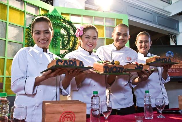 MasterChef Pinoy Edition Top 4 cooks Carla, Ivory, JR and Myra