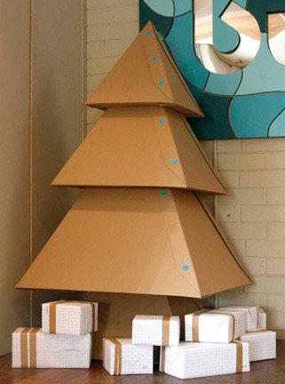 Cardboard Tree