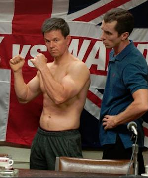 "Mark Wahlberg and Christian Bale in ""The Fighter."" -- Paramount"