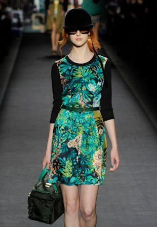 Tropical prints at Tracy Reese