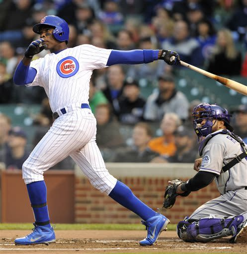 Wood solid as Cubs cruise past Rockies 9-1