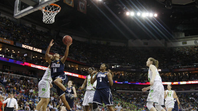NCAA Womens Basketball: NCAA Tournament-Notre Dame vs Connecticut